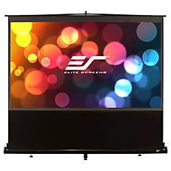 Elite Screens F120NWH ezCinema Portable Floor