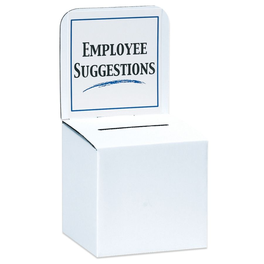suggestion boxes at office depot officemax ballot boxes 10 x 10 x
