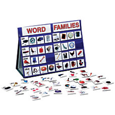 Playmonster Word Families Tabletop Pocket Chart