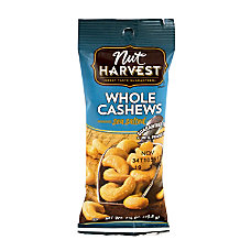 Nut Harvest Nuts Sea Salted Cashews