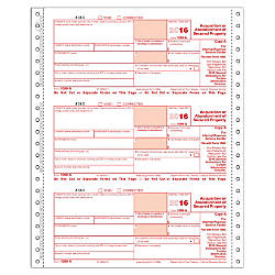 ComplyRight 1099 A Inkjet Tax Forms