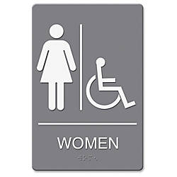Headline US Stamp Sign WomenWhlchr Image