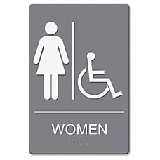 Headline WomenWhlchr Image Indoor Sign 1