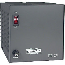Tripp Lite DC Power Supply 25A