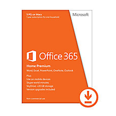 Microsoft Office 365 Home Premium 1