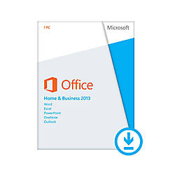 Microsoft Office Home and Business 2013 , Download Version