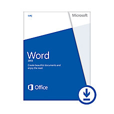 Microsoft Office Word 2013 for Windows