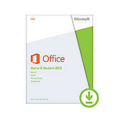 Microsoft Office Home and Student 2013 , Download Version