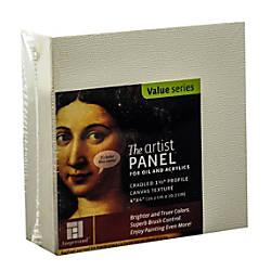 Ampersand Artist Panel Canvas Texture Cradled