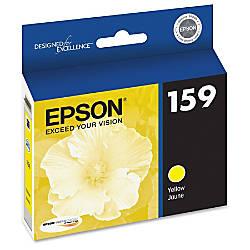Epson 159 T159420 Yellow Ink Cartridge