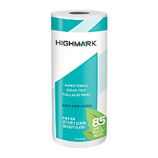 Highmark Brand 100percent Recycled Paper Towels