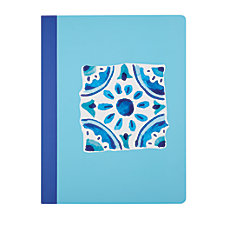 Divoga Composition Notebook Mediterranean Collection College