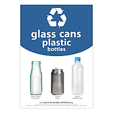 Recycle Across America Glass Cans And