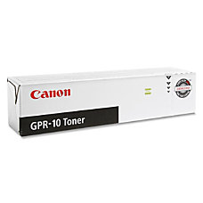 Canon GPR 10 Black Toner Cartridge