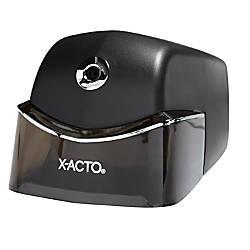 X ACTO Quiet Electric Pencil Sharpener Black by Office ... X Acto Electric Pencil Sharpener