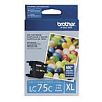 Brother LC75C High Yield Cyan Ink