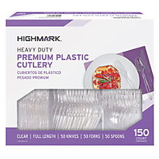 Highmark Full Length Utensils Clear Pack