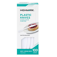 Highmark Medium Length Polystyrene Knives Pack