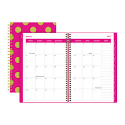 Divoga Paperboard Cover Monthly Planner 7