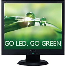 ViewSonic 17 LED Monitor VA705 LED