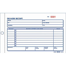 Rediform Delivery Receipt Book 2 Part