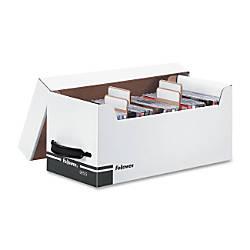 Fellowes Media Storage Diskettes WhiteBlue Box