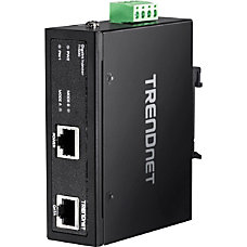 TRENDnet Hardened Industrial Gigabit PoE Injector