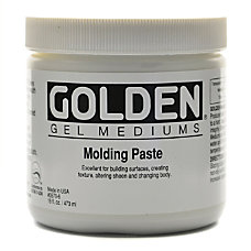 Golden Molding Paste Standard 16 Oz
