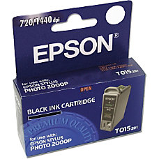 Epson T015 T015201 Black Ink Cartridge