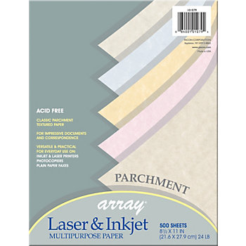 Array bond paper for inkjet laser print letter x 11 Blue bond paper