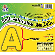 Pacon Self Adhesive Removable Letters 78