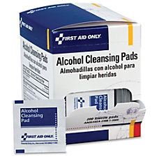 First Aid Alcohol Cleansing Pads Dispenser