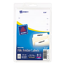Avery Removable File Folder Labels 1116