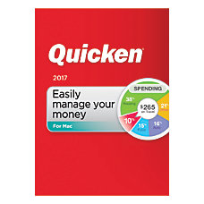 Quicken 2017 For Mac Traditional Disc