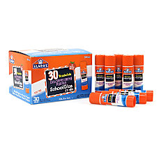 Elmers Glue Stick Classroom Pack Purple