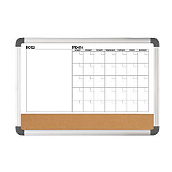 FORAY 3 In 1 Monthly PlannerCorkMagnetic