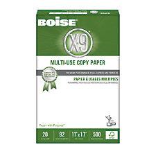 Boise X 9 Multipurpose Copy Paper