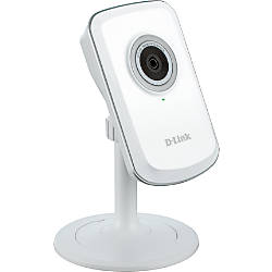 "D-Link® 1050 Wireless-N Network Cloud Camera, 4.9"" x 2.9"" x 2.3"", White"