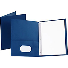 Oxford Twin Pocket Portfolio With Fasteners