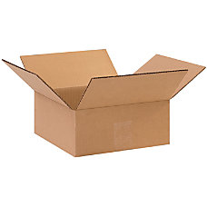 Office Depot Brand Flat Boxes 10