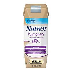 Nestl Nutritional Nutren Pulmonary Vanilla 845