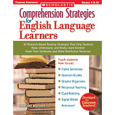 Scholastic Comprehension Strategies For English Language