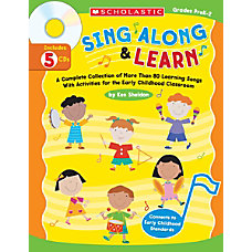 Scholastic Sing Along And Learn BookCD
