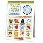 Scholastic Flip ChartCD Calendar Time
