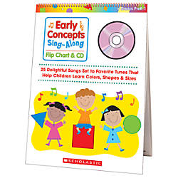 Scholastic Flip ChartCD Early Concepts Sing
