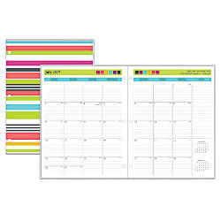 Blue Sky Todays Teacher Monthly Planner
