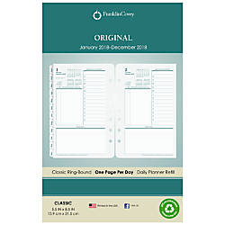 FranklinCovey Daily Planning Pages Refill 5