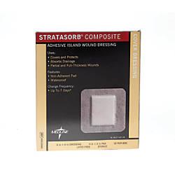 Stratasorb Composite Island Dressings 6 x