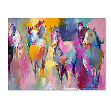 Trademark Global Wild Gallery Wrapped Canvas
