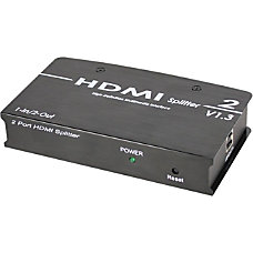 SIIG 1x2 HDMI Splitter